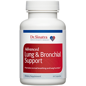 Bottle of Advanced Lung & Bronchial Support
