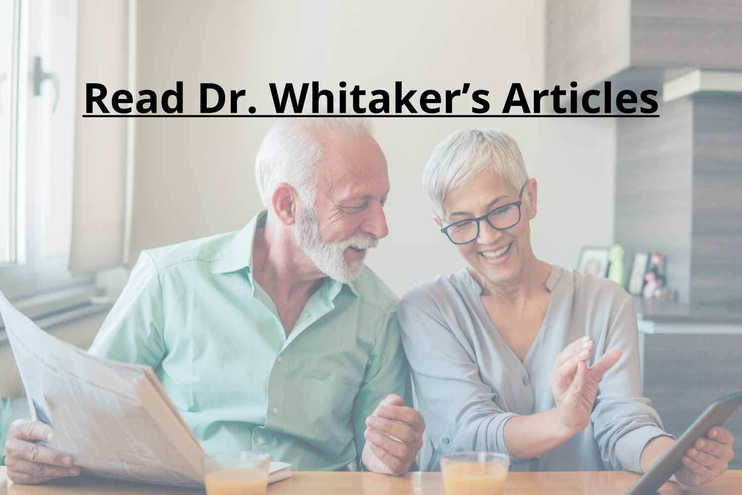 Read Whitaker Nutrition Articles